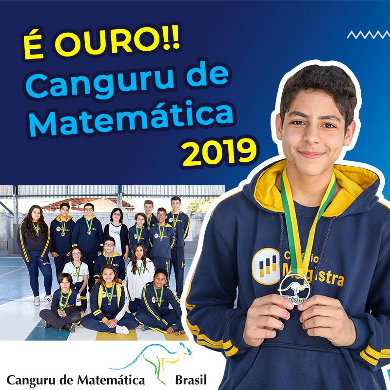 Colégio Magistra mais uma vez se destaca no Concurso Canguru de Matemática Brasil